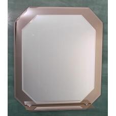 Зеркало Восьмигранное двойное с полочкой