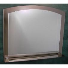 Зеркало Арка двойное с полочкой